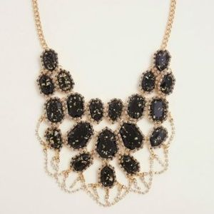 SPECKLED STATEMENT NECKLACE